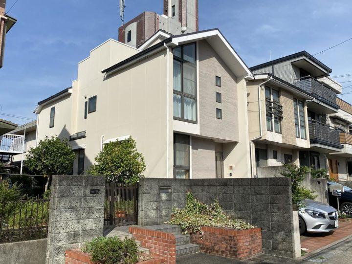 名古屋市名東区 F様邸 外壁塗装 屋根塗装 防水改修