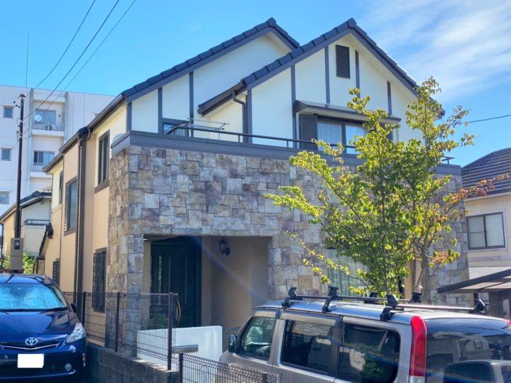 名古屋市名東区 N様邸 外壁塗装/屋根塗装/防水工事/コーキング/雪止め設置