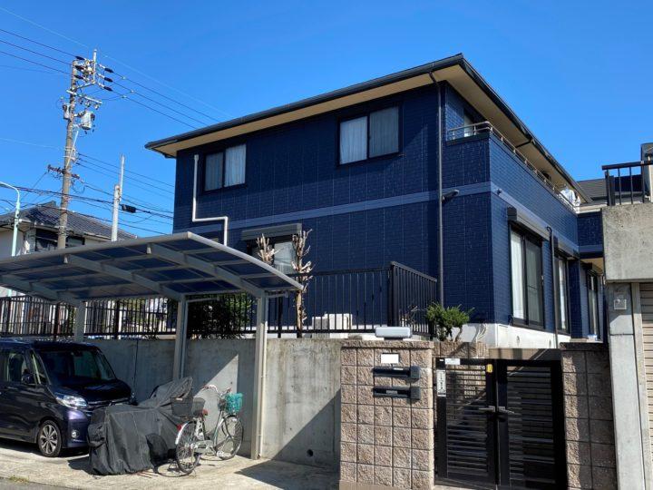 名古屋市名東区 A様邸 外壁塗装/屋根塗装/コーキング/防水工事