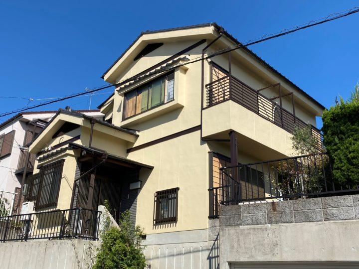名古屋市名東区 N様邸 外壁塗装/防水工事
