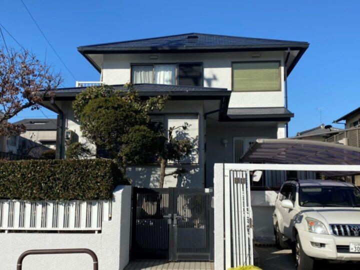 名古屋市名東区 S様邸 外壁塗装/屋根塗装/板金工事