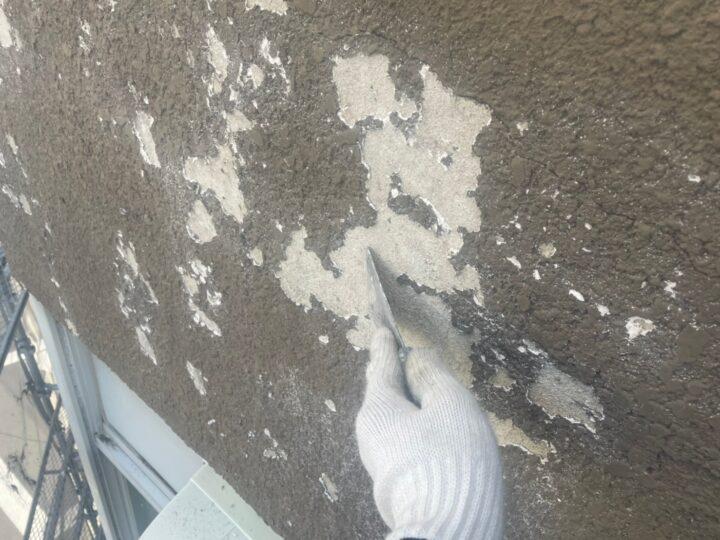 外壁浮き 補修